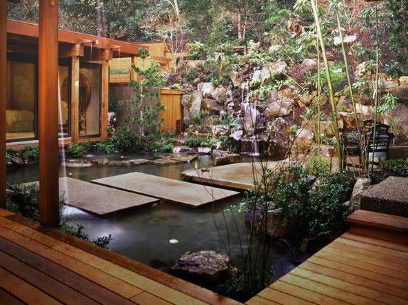home design asian landscape