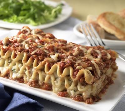 lasagna - Italian Sausage Lasagna