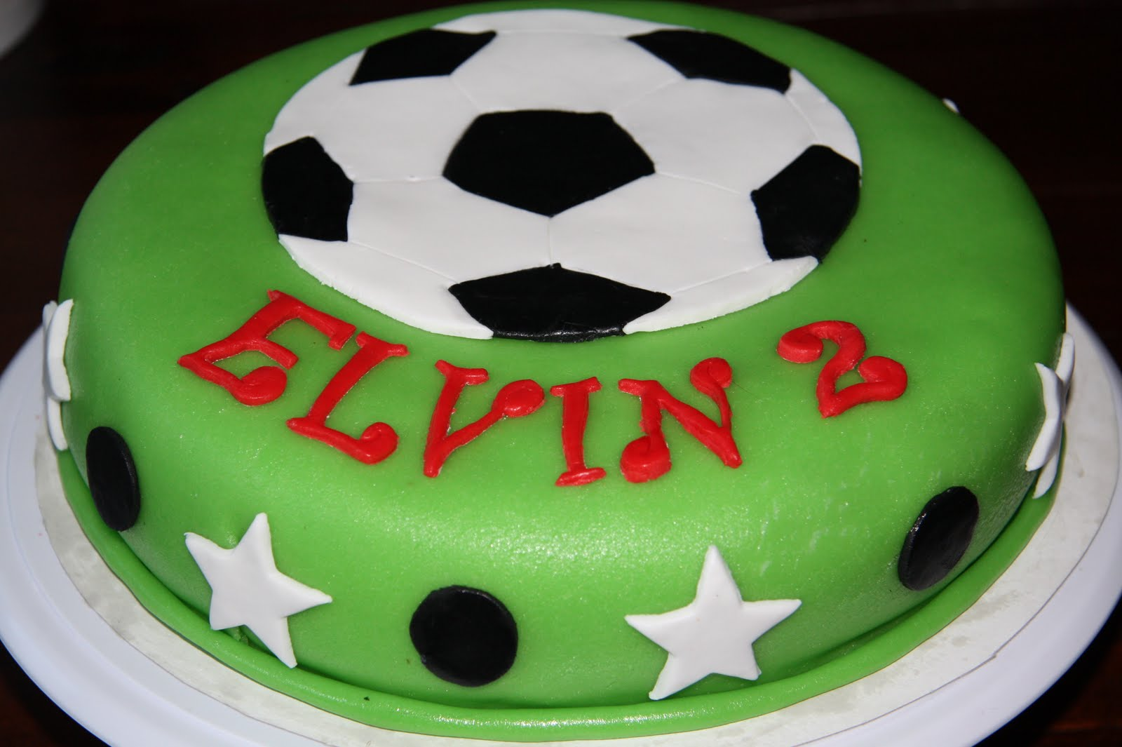 Cake Decorating Ideas For Soccer : The Cake Booth: Soccer birthday cake