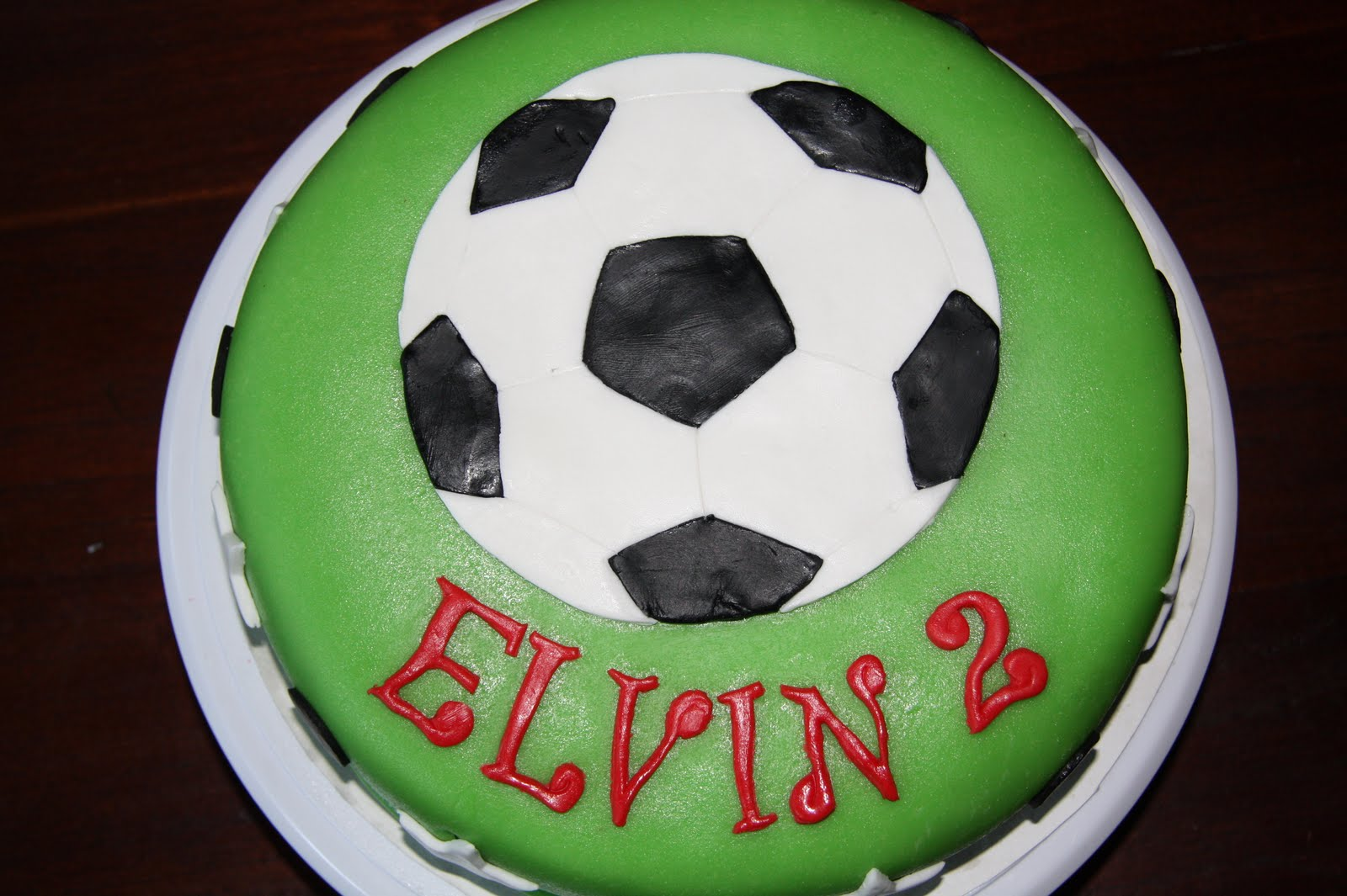 The Cake Booth: Soccer birthday cake
