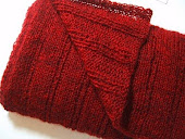 A Neutral Red Scarf
