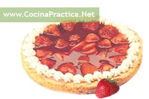 tarta de frutillas