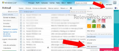 Bandeja de entrada de Hotmail