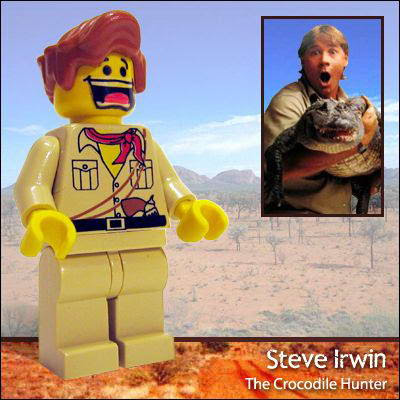 69 Famous people in Lego