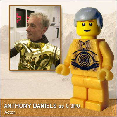 39 Famous people in Lego