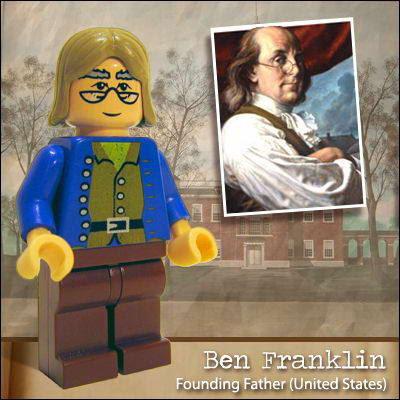 Pessoas Famosas Representadas em Lego  03 Famous people in Lego