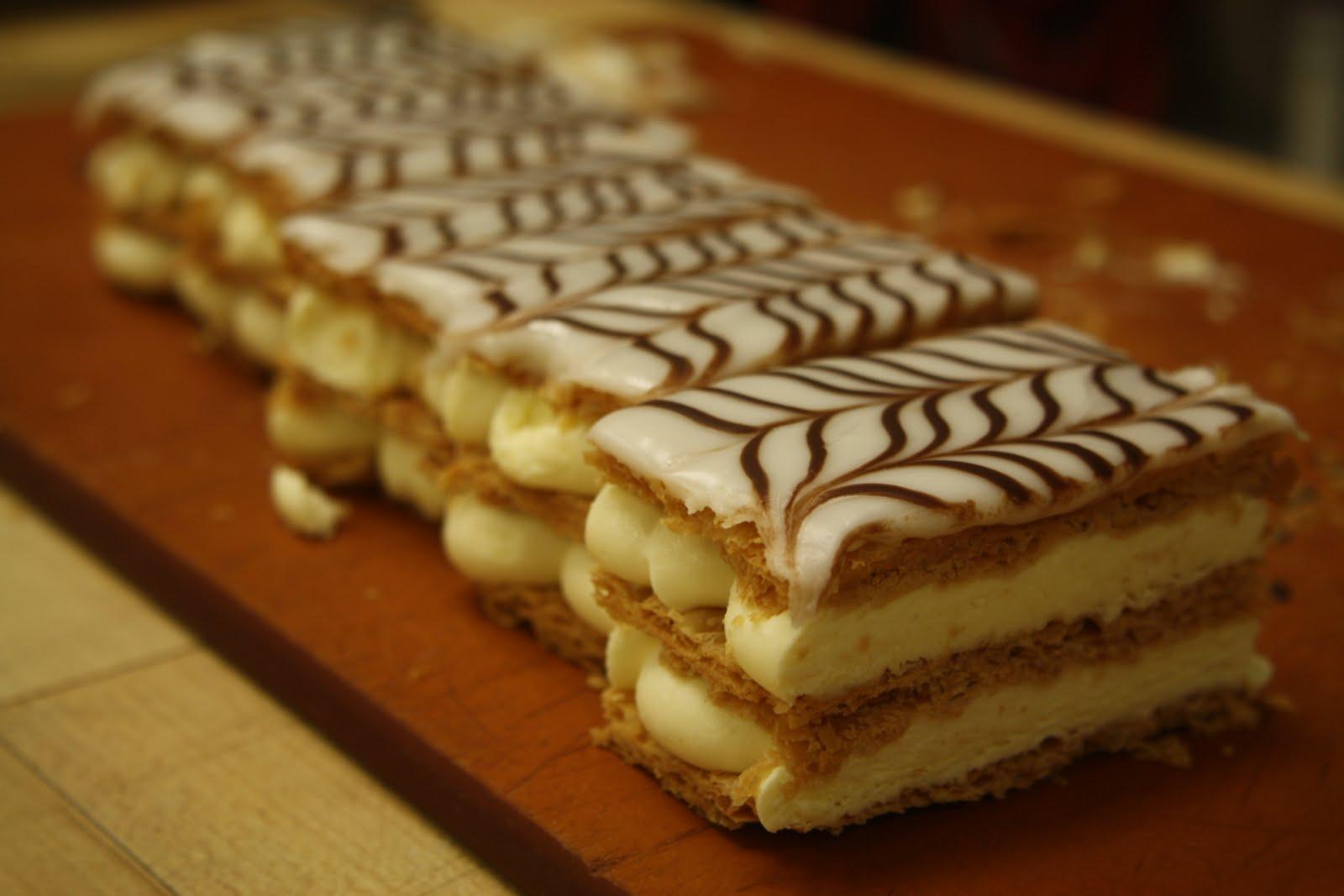 Recipes for napoleons