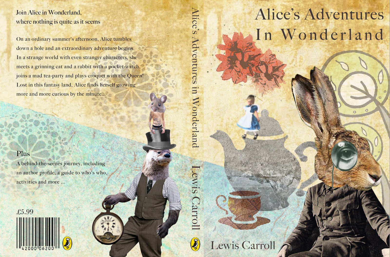 Alice In Wonderland Book Cover Ideas ~ Holly box: penguin&puffin book covers