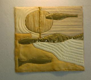 Actual texture in art