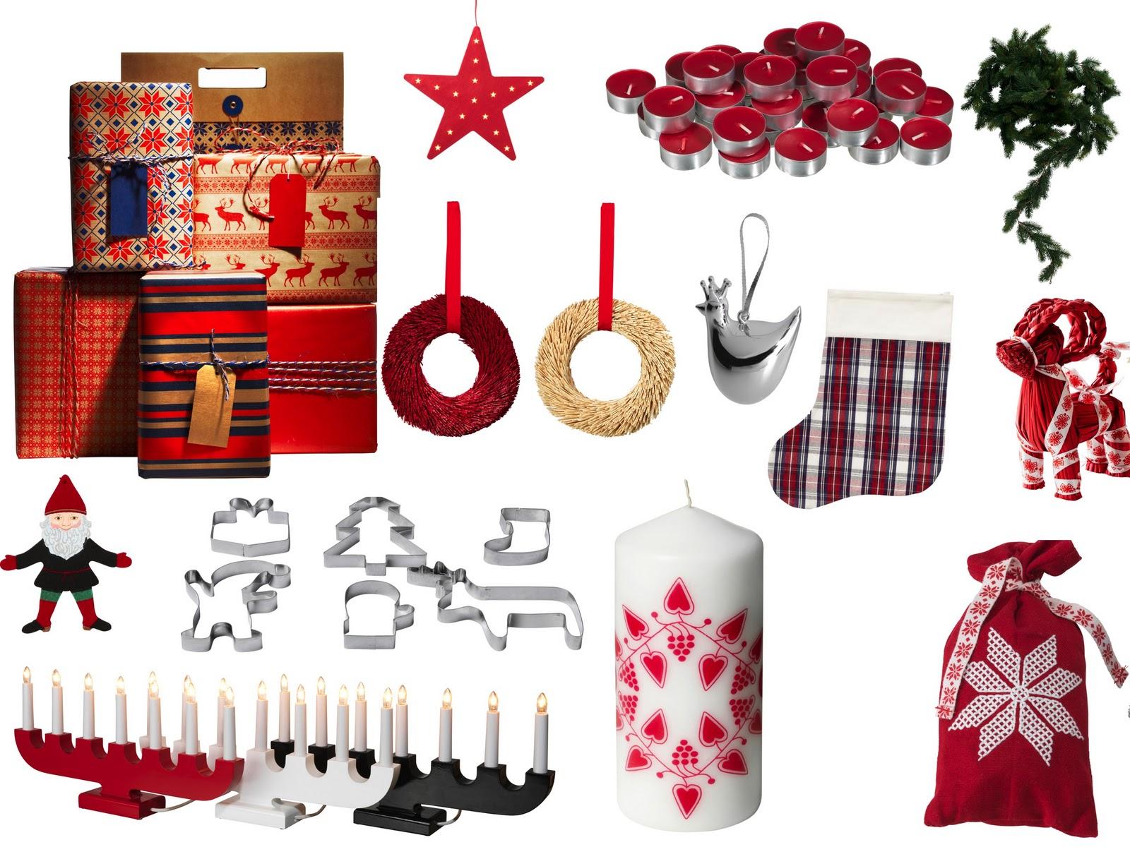 Kata b log live moodboard god jul for Ikea weihnachtsschmuck