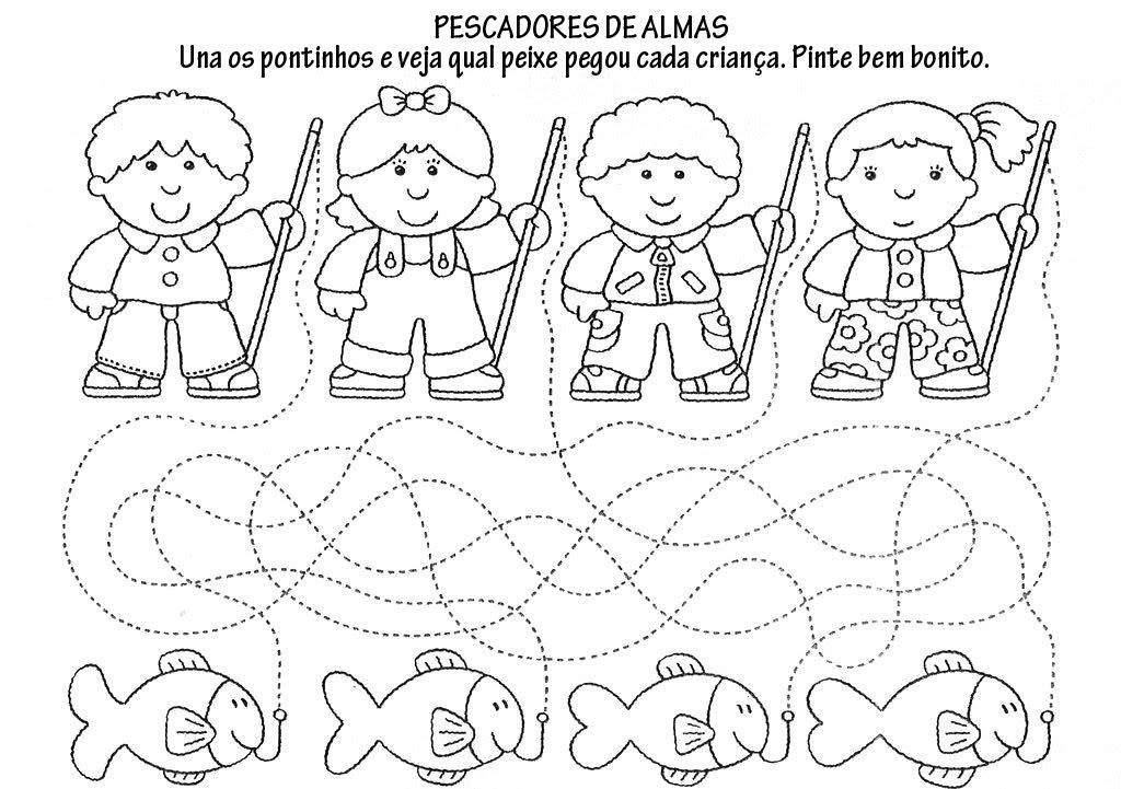 Catequese infantil s o jos oper rio exercicios biblicos e atividades - Trabajar en comedores escolares valencia ...