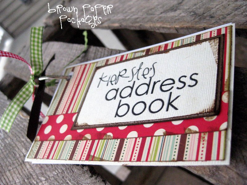 3x5 Card Address Book Simply Kierste Design Co