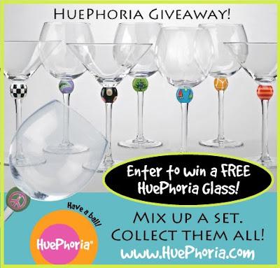 Huephoria wine glass