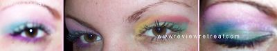 vibrant eyeshadow results