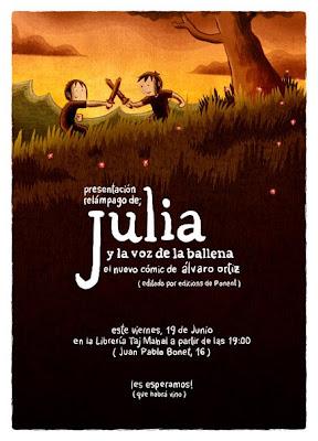 Julia y la voz de la ballena