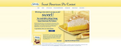 Splendidlife.com, Sweet American Pie Contest