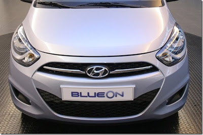 Hyundai i10 Facelift Electric Variant Blue On Launched In Korea