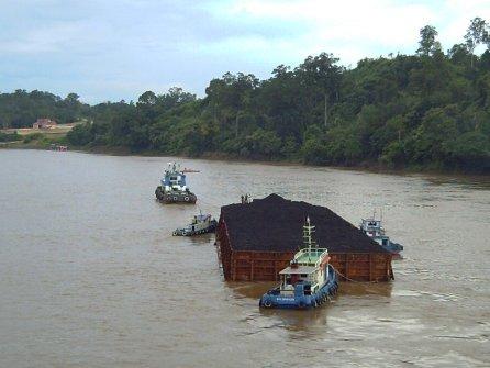 batubara diatas air