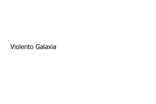 Violento galaxia
