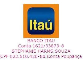 Conta para depósito no Itaú