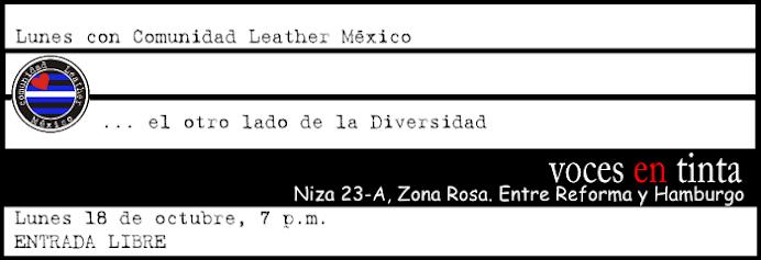 LUNES CON COMUNIDAD LEATHER MÉXICO