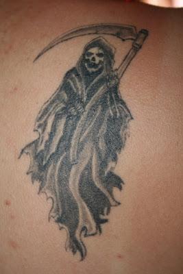 Santa Muerte tattoo | XOCH TATTOO