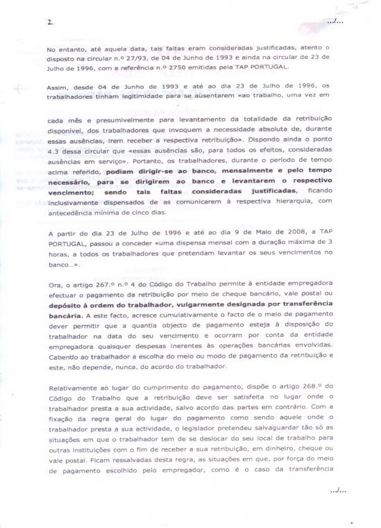 Informação aos Trabalhadores (folha 2)
