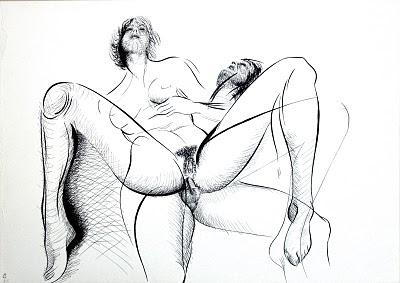 dessin erotique pornogrraphique sodomie