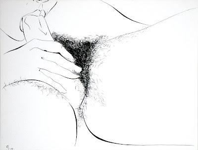 dessin erotique fellation