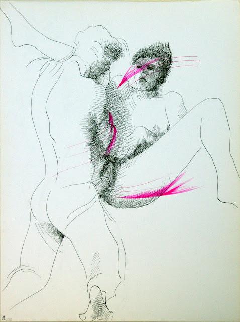 dessin erotique penetration