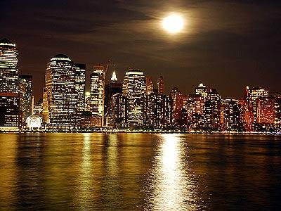 city skyline cartoon. new york skyline cartoon. nyc