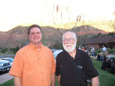 Artists Roland Lee and Donal Jolley at REd Rock Rondo preview