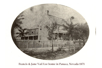 John Nelson Lee home in Panaca Nevada
