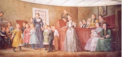 Mural in the Farmington Rock Church