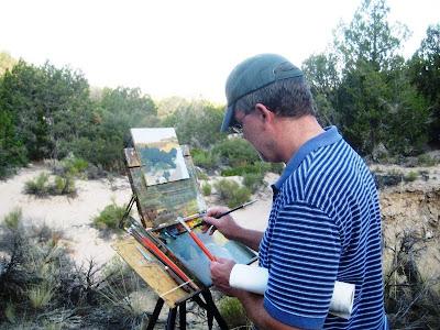 Artist David Koch