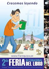 2da Feria Internacional del libro de Arequipa