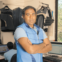 kranthi kiran vistakula An indian inventor is developing clothes which keep the wearer comfortable in  extreme temperatures kranthi kiran vistakula started with a.