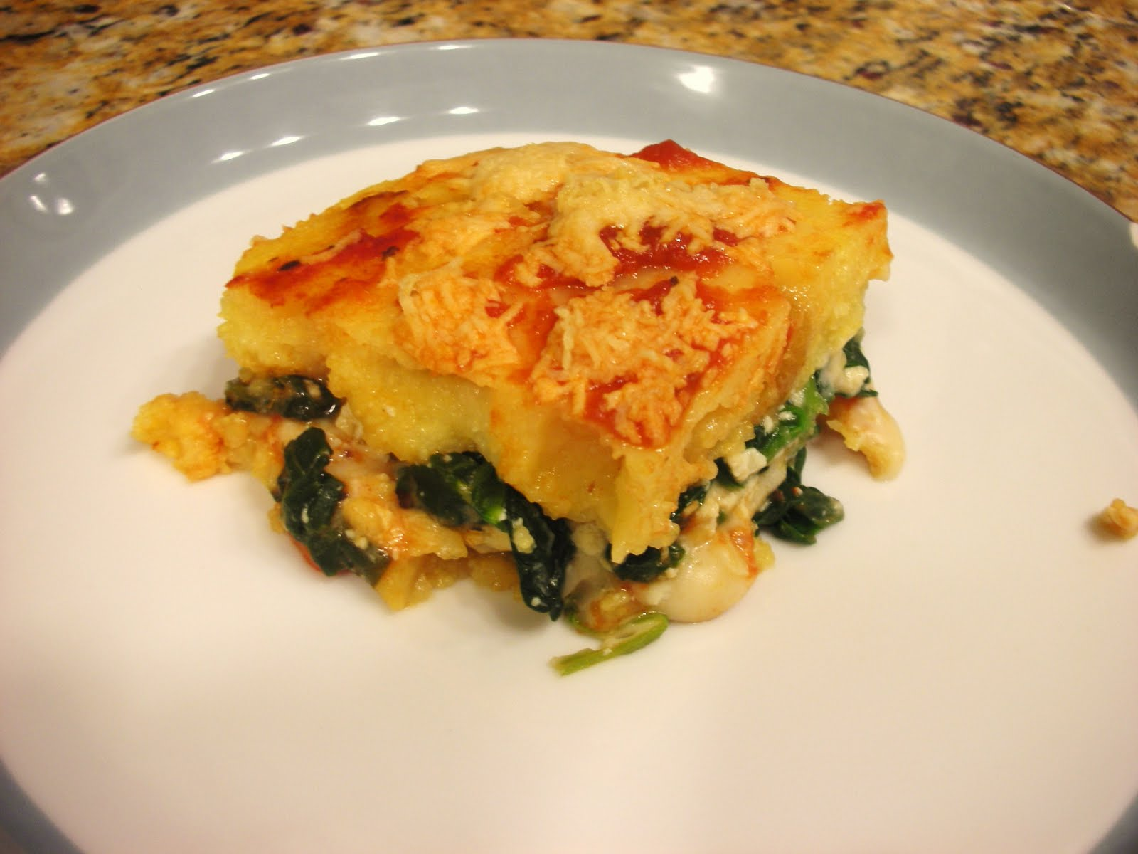 Polenta Lasagna Recipe — Dishmaps