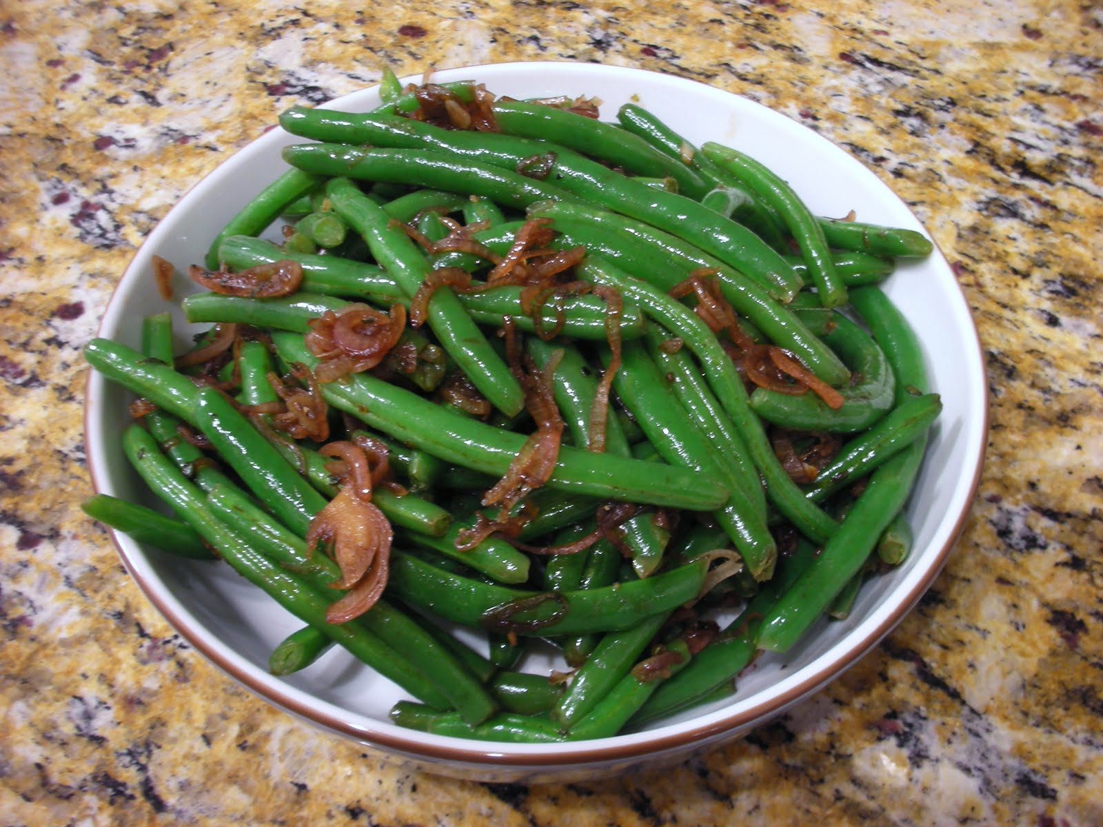 Everyday Vegan: Green Beans with Caramelized-Shallot 'Butter'