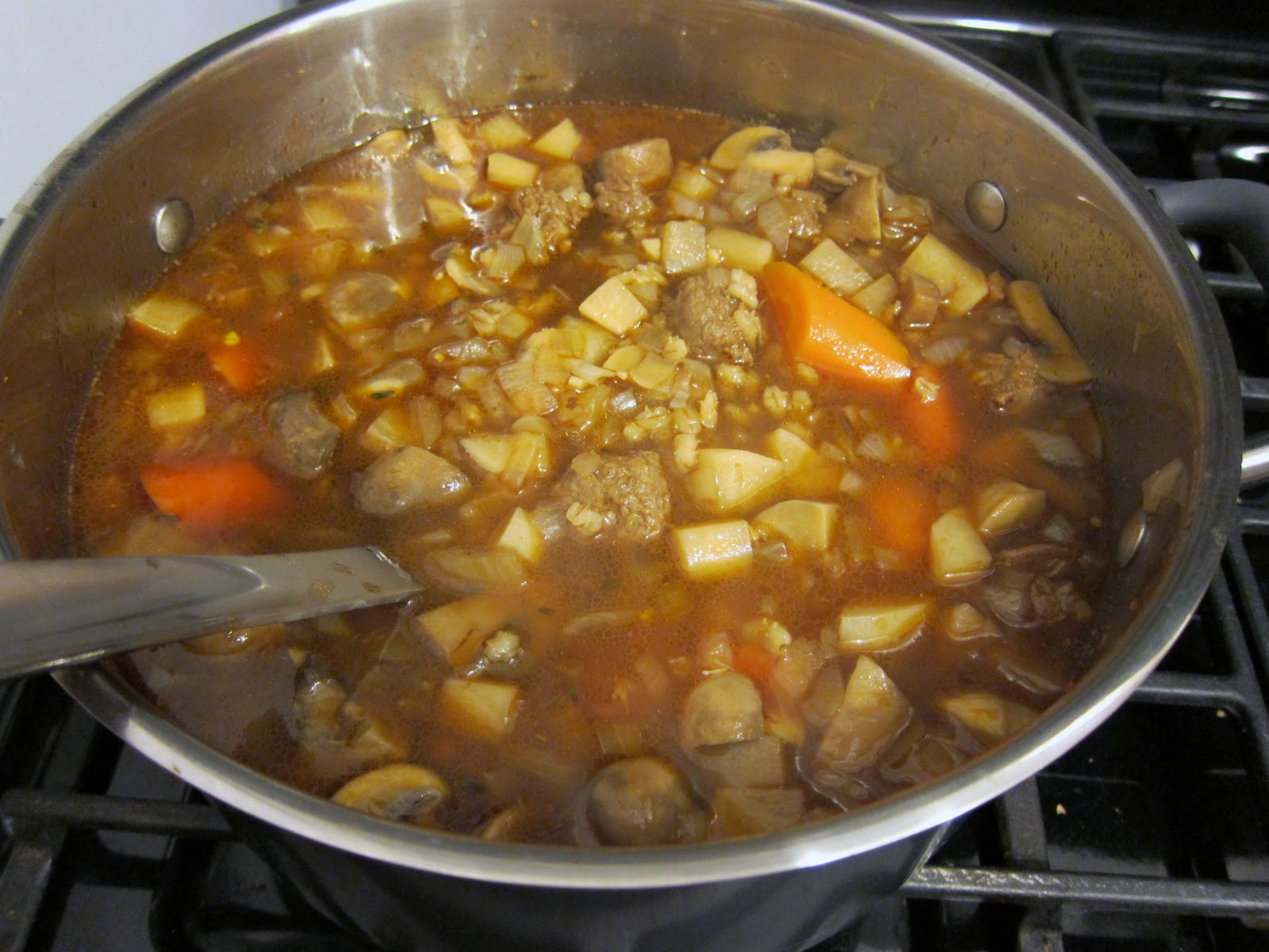 Beef And Barley Stew With Mushrooms Recipes — Dishmaps