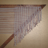 My next hand woven shawl