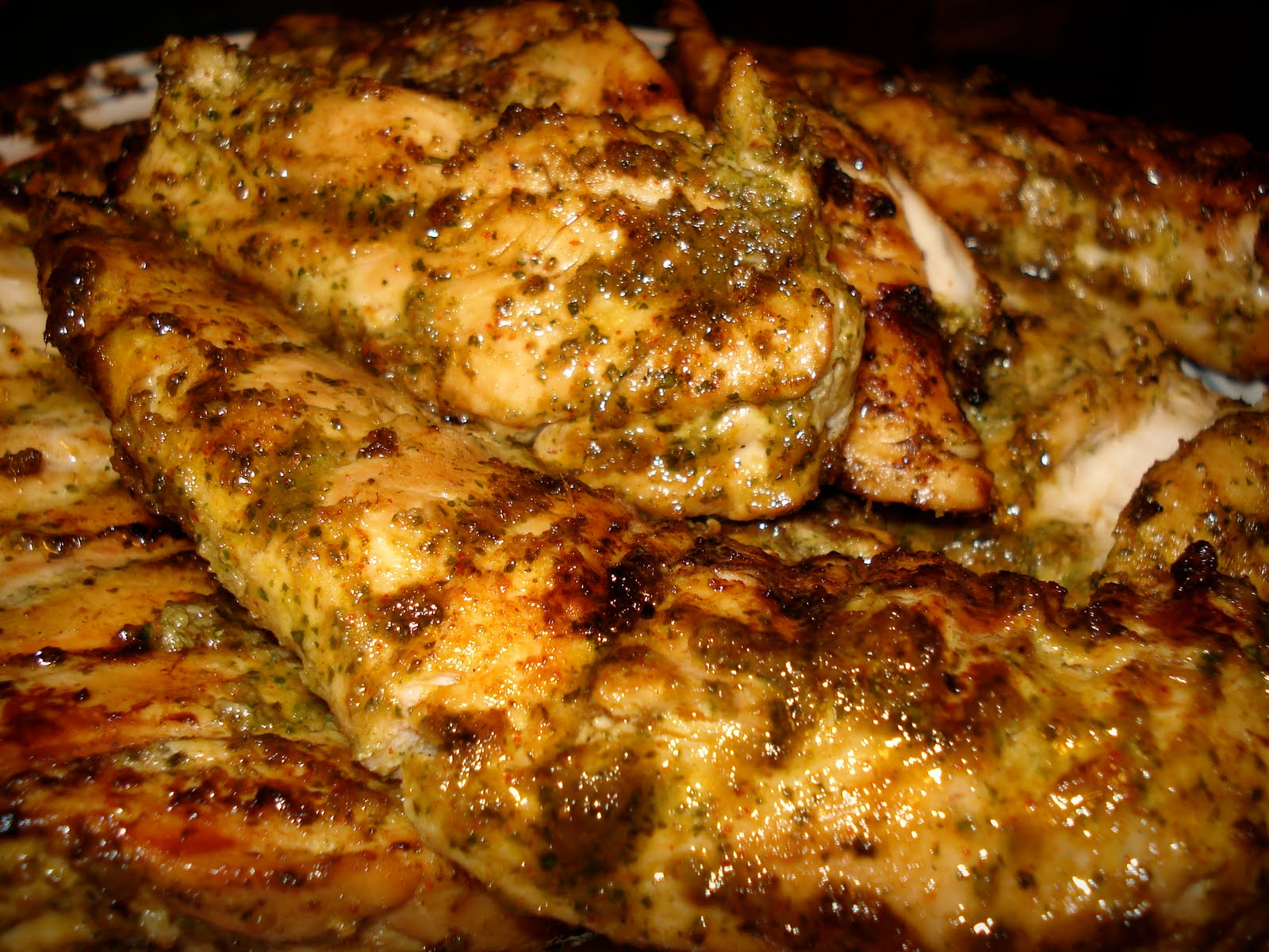 lindstew foodies : :: Grilled Cilantro Lime Pork Chops or Chicken