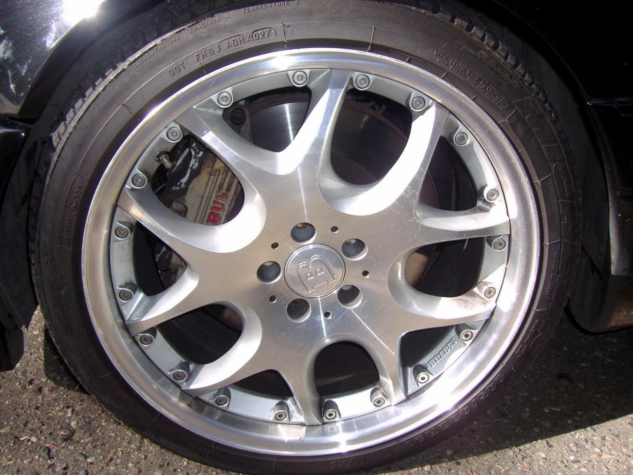 BRABUS S 7.3 W140 V12  BENZTUNING