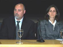 Apolline Torregrosa y José Luis García Acuña