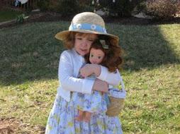 Sophia, Easter, 2008