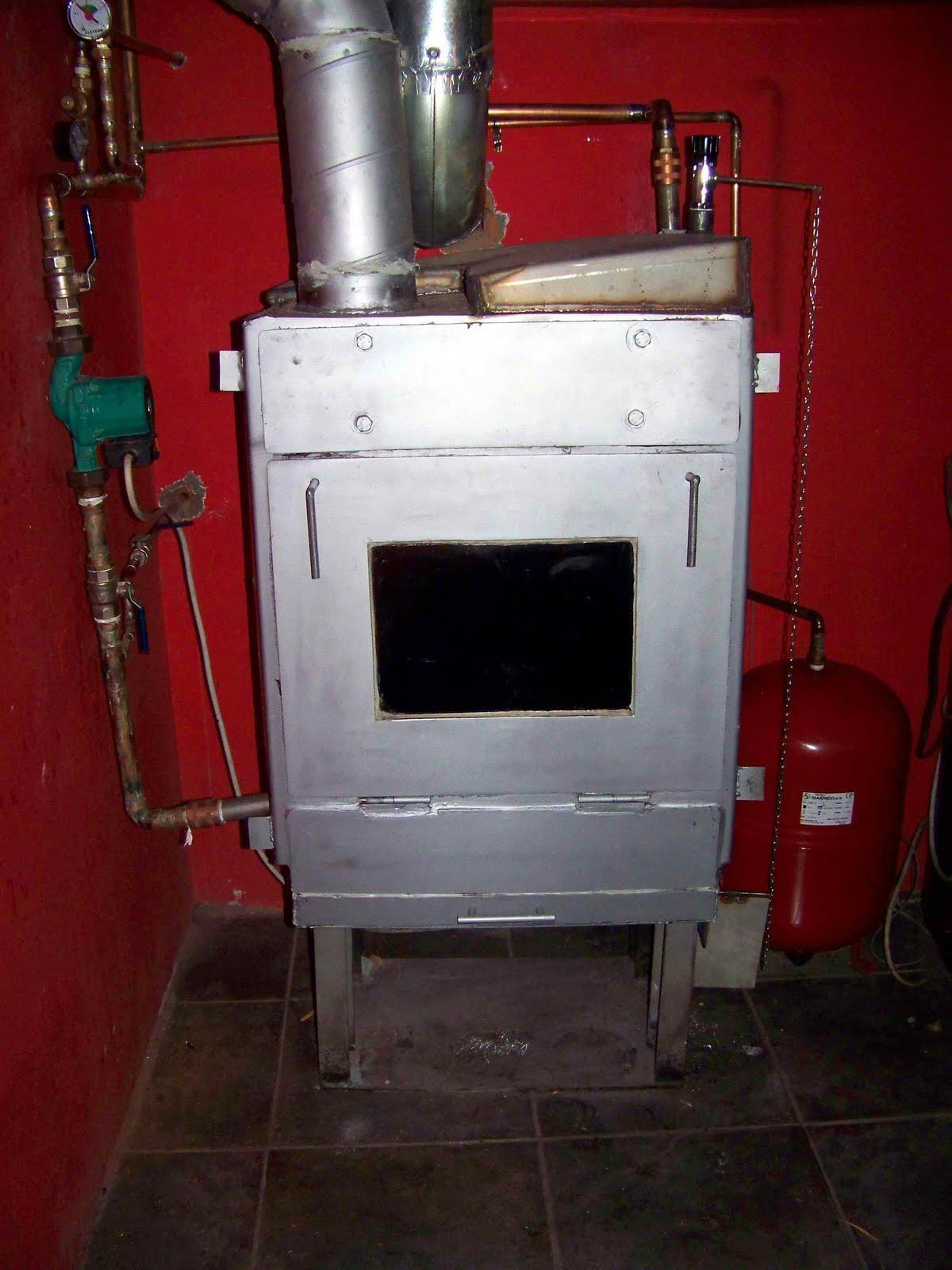 Tecnolog a para un progreso sostenible caldera de acero - Estufa de lena para radiadores ...