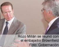 Gobernador se reunió con el Embajador de Estados Unidos