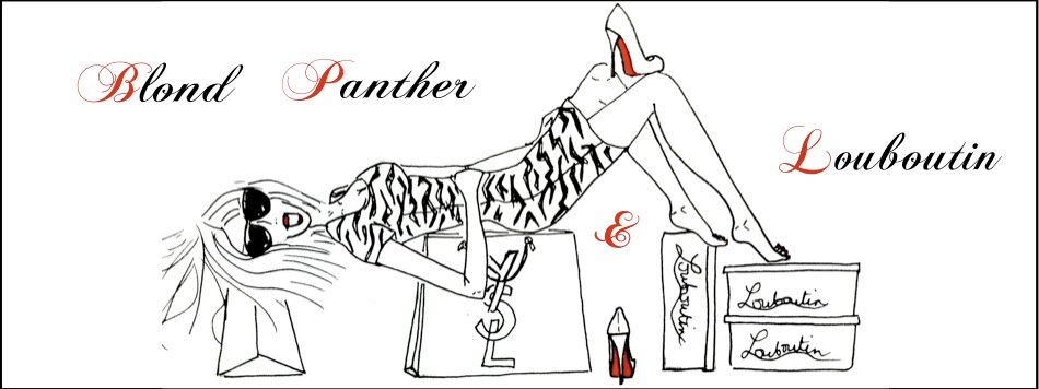 Blond Panther & Louboutin