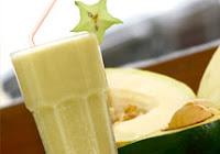 Vitamina de Abacate e Melão (vegana)