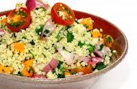 Salada de Cuscuz Marroquino com Legumes (vegana)